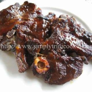 An Easy Barbecue Lamb