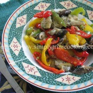 Steamed Fish with Stir Fried Veggies
