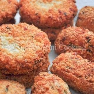 Breadfruit Fish Cakes