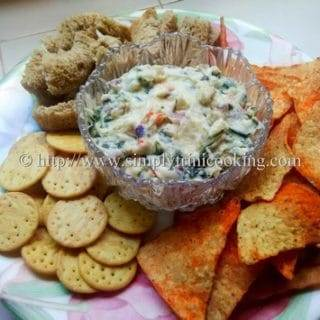 Creamy Spinach Dip Trinistyle