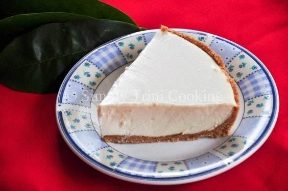 soursop cheesecake