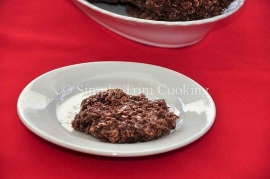 no bake coconut oatmeal cookies