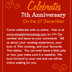 Simply Trini's 7th Anniversary